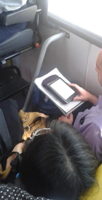 Lendo no Kindle!