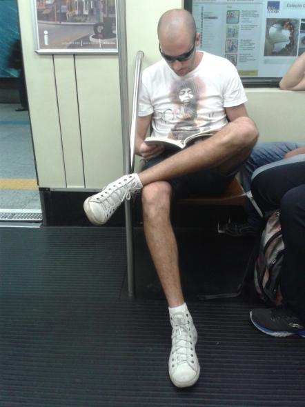 Leitor: Everton - Onde ele estava? - Linha verde do metrô sentido Vila Madalena