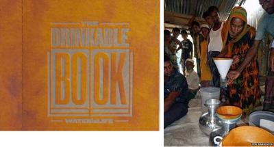 livro filtra água