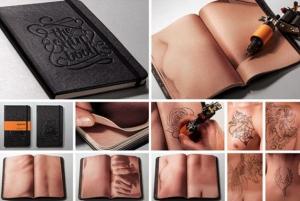 livro de tatuagem