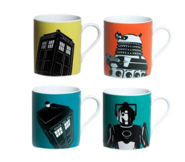 Se ele gosta de ler com certeza é fã de alguma série de tv! Olha que show essas canecas do Doctor Who! http://www.lojamundogeek.com.br/caneca/conjunto-decanecas-doctor-who